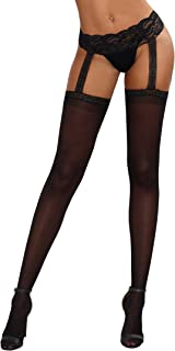Best thigh highs with garter Reviews