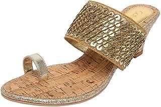 Catwalk Golden Slip-on for Women's