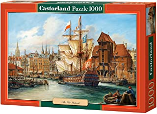 Castorland CSC102914 Hobby Panoramic The Old Gdansk Jigsaw Puzzle, 1000 Pieces Set, Multicolour