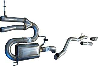 "994937SL 2012-2015 3"" Exhaust System for Veloster 1.6L Turbo By Solo Performance Compatible with Hyundai Veloster Turbo"