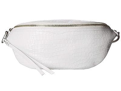 Rebecca Minkoff Bree Belt Bag (Optic White) Handbags