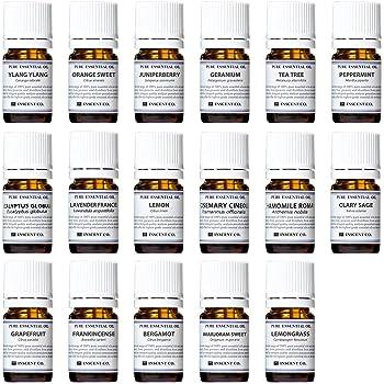 アロマテラピー検定香りテスト対応17種セット エッセンシャルオイル 精油 AEAJ インセント