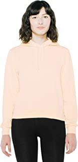American Apparel Women's French Terry Mid-Length Long Sleeve Hoodie, Faded