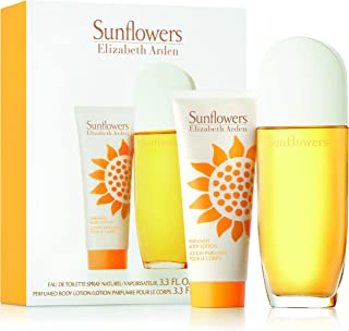 Elizabeth Arden Sunflowers Eau De Toilette Spray and Body Lotion 2 Piece Set, 200 ml - Pack of 1