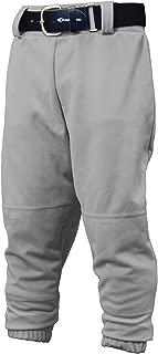 Youth PRO Pull UP Baseball Softball Pant | 2020 | Youth Size | Drawstring Waistband | Batting Glove Back Pocket | Elastic Bottom Opening | 100% Polyester