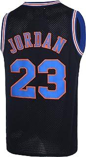 Herren 23# Space Movie Jersey Basketball Jersey S-3XL 90er Jahre Hip Hop Kleidung für Party weiß/schwarz/blau