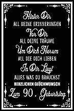 Hinter dir all deine Erinnerungen Vor dir all deine Traeume I 90: Geschenk Notizbuch fuer jungs maedchen, Geschenkideen fu...