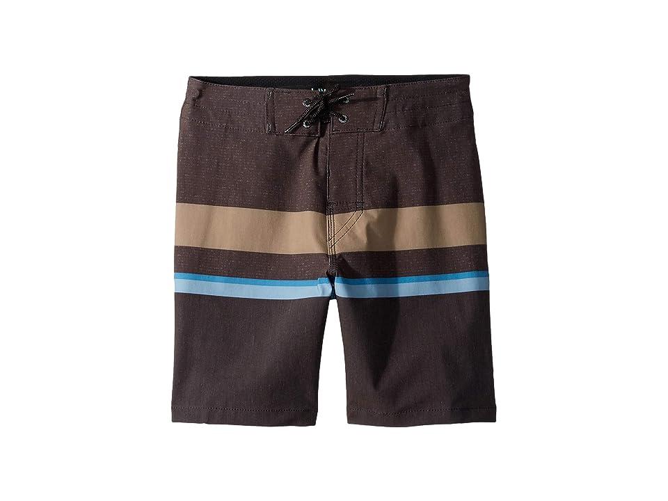 Rip Curl Kids Rapture Layday Boardshorts (Big Kids) (Black) Boy