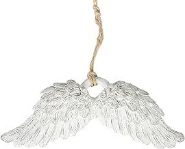 Angelito de /árbol de Navidad TOPPER roja y dorada en la colgante de /ángel con Arpa dorado Alas