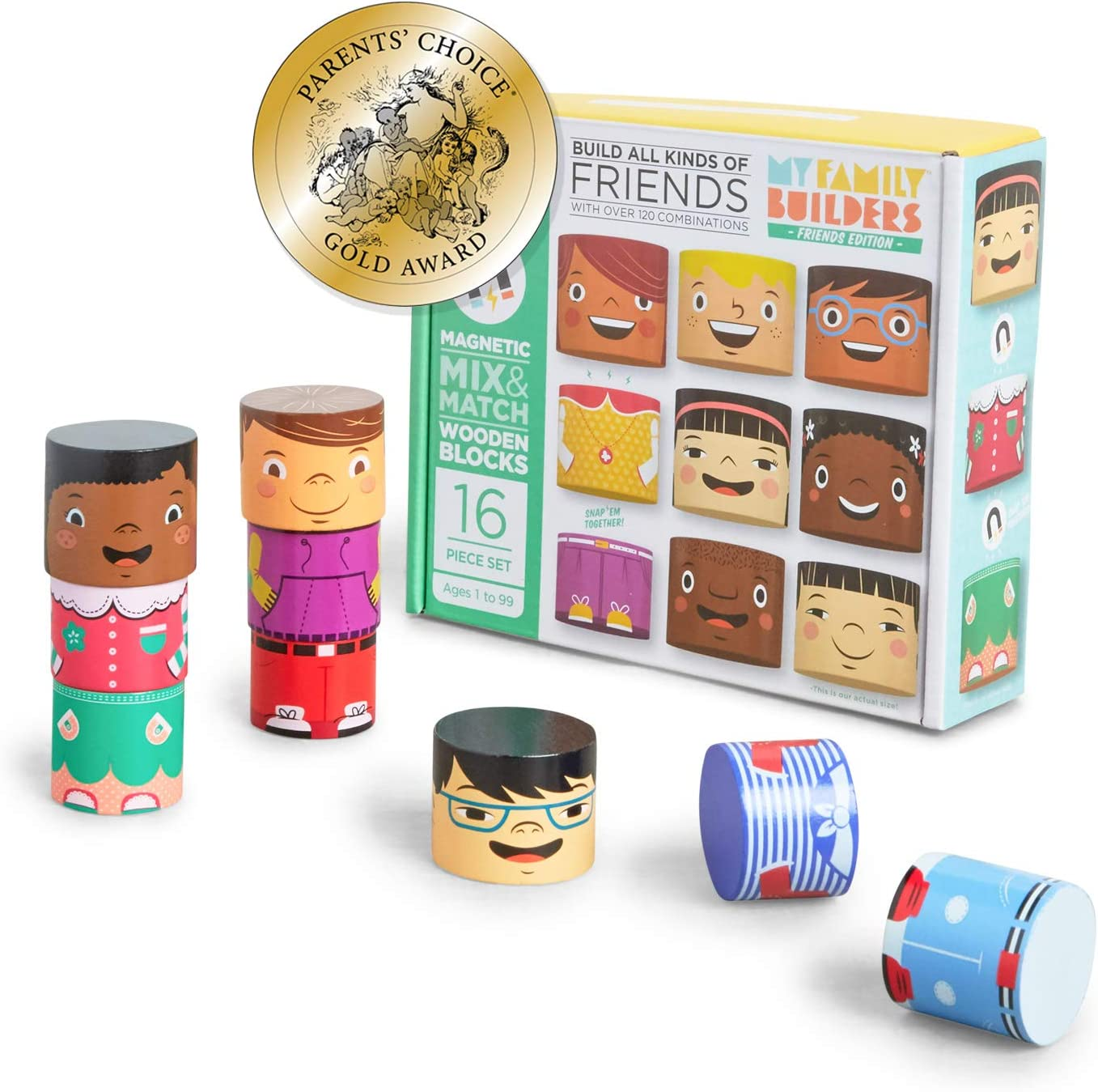 My Family Sales Award results No. 1 Builders Friends Edition Diversity Blocks Building wit
