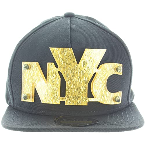 Snapback 3D Letters Rivet BLING COLLECTION - Plate Hip-Hop Hat Plaque Baseball  Cap 44330bf75111