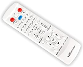 TeKswamp Video Projector Remote Control (White) for JVC DLA-RS46