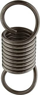 3 Free Length 3.98 Extended Length 69.96 lbs Load Capacity 0.135 Wire Size Extension Spring 64.72 lbs//in Spring Rate 1 OD Inch 302 Stainless Steel 1 OD 0.135 Wire Size 3 Free Length 3.98 Extended Length Associated Spring Raymond Pack of 10