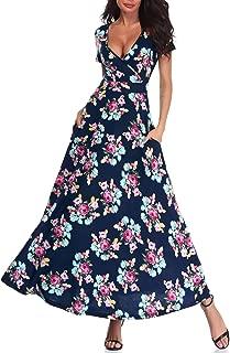 wayf natasha floral wrap dress
