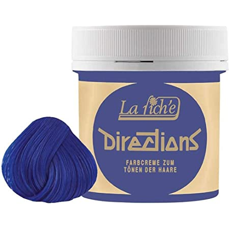 La Riche Directions - Color de Cabello Semi-permanente, matiz Midnight Blue, 89 ml