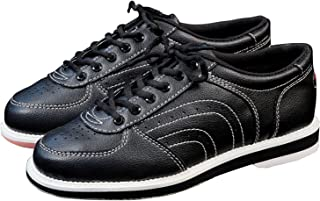 Men's Bowling Shoes Skidproof Sole Breathable Sneakers Bowling Ball Shoes for Men