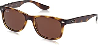 Kids' RJ9052S New Wayfarer Kids Sunglasses, Havana/Brown, 48 mm