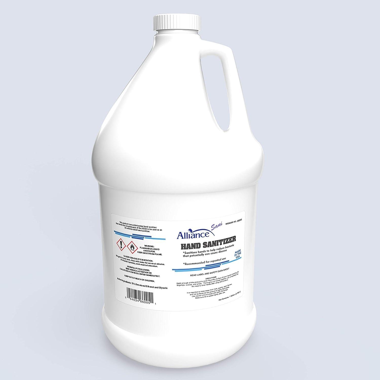 通販 激安◆ Alliance-Sani Hand Disinfectant Sanitizer 1 品質検査済 Gallon 70% - Alcohol