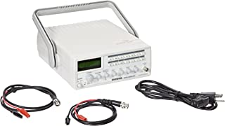 GW Instek GFG-8255A Function Generator with 6 Digit LED Display, Frequency Counter, Sweep and AM/FM Modulation, GCV Output, 0.5Hz to 5MHz Frequency Range