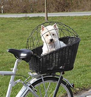 comprar comparacion Trixie - Cesta de bicicleta de plástico recubierto y detalle de entramado