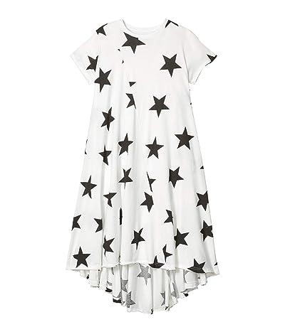 Nununu Star 360 Dress (Little Kids/Big Kids) (White) Girl