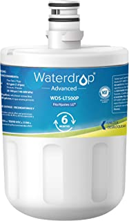 Waterdrop NSF 53&42 Certified Refrigerator Water Filter, Compatible with LG LT500P, 5231JA2002A, ADQ72910901, Kenmore GEN11042FR-08, 9890, 46-9890, Advanced