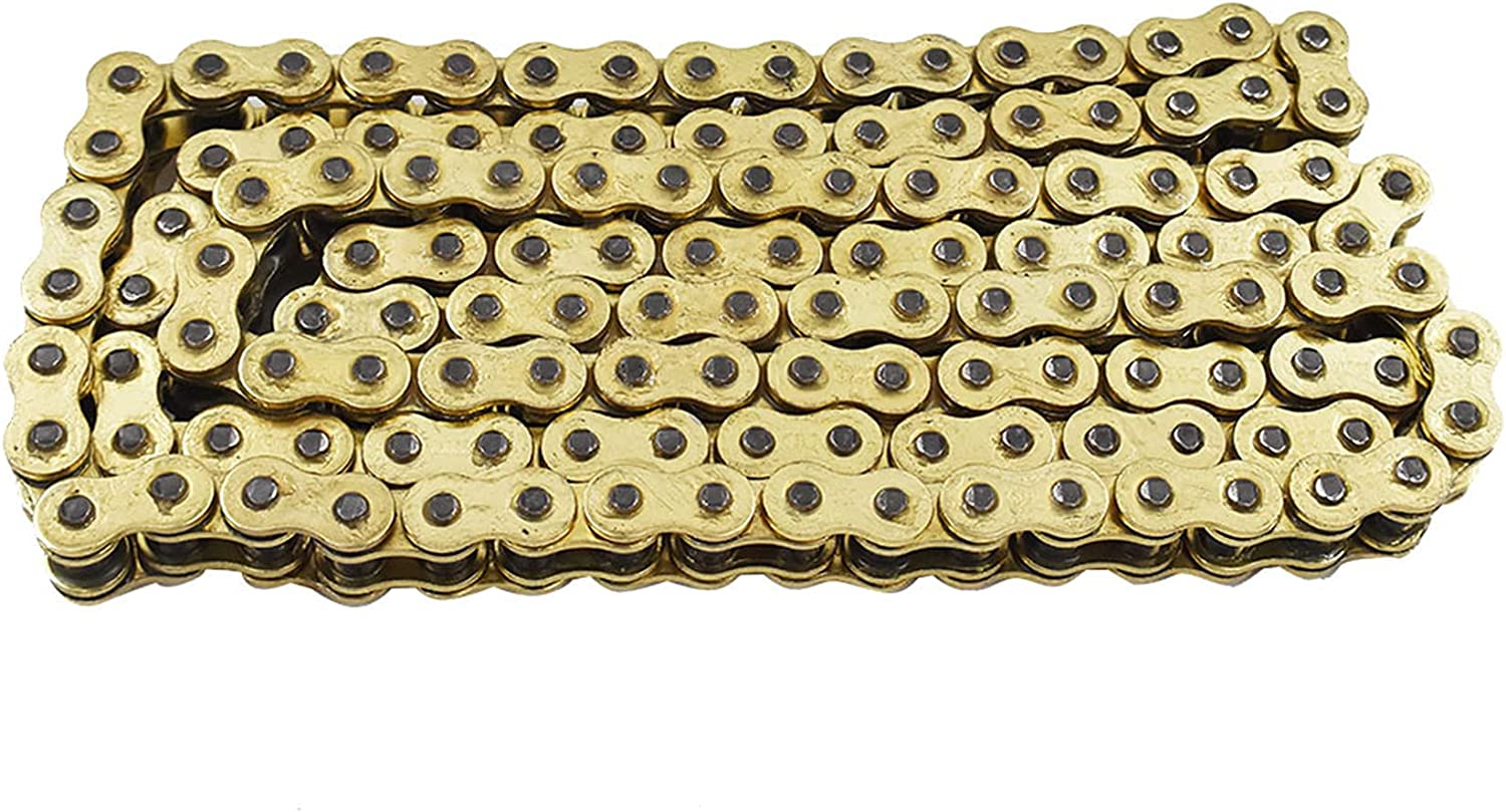 70% OFF Outlet labwork Heavy Duty Some reservation Drive Chain with O-Ring Color Pitch Gold 530x