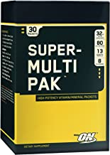 Optimum Nutrition Super Multi Pak, 30 Packets
