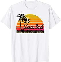 Ocean Breeze Mind at Ease LAGUNA BEACH Souvenir Sun T-Shirt