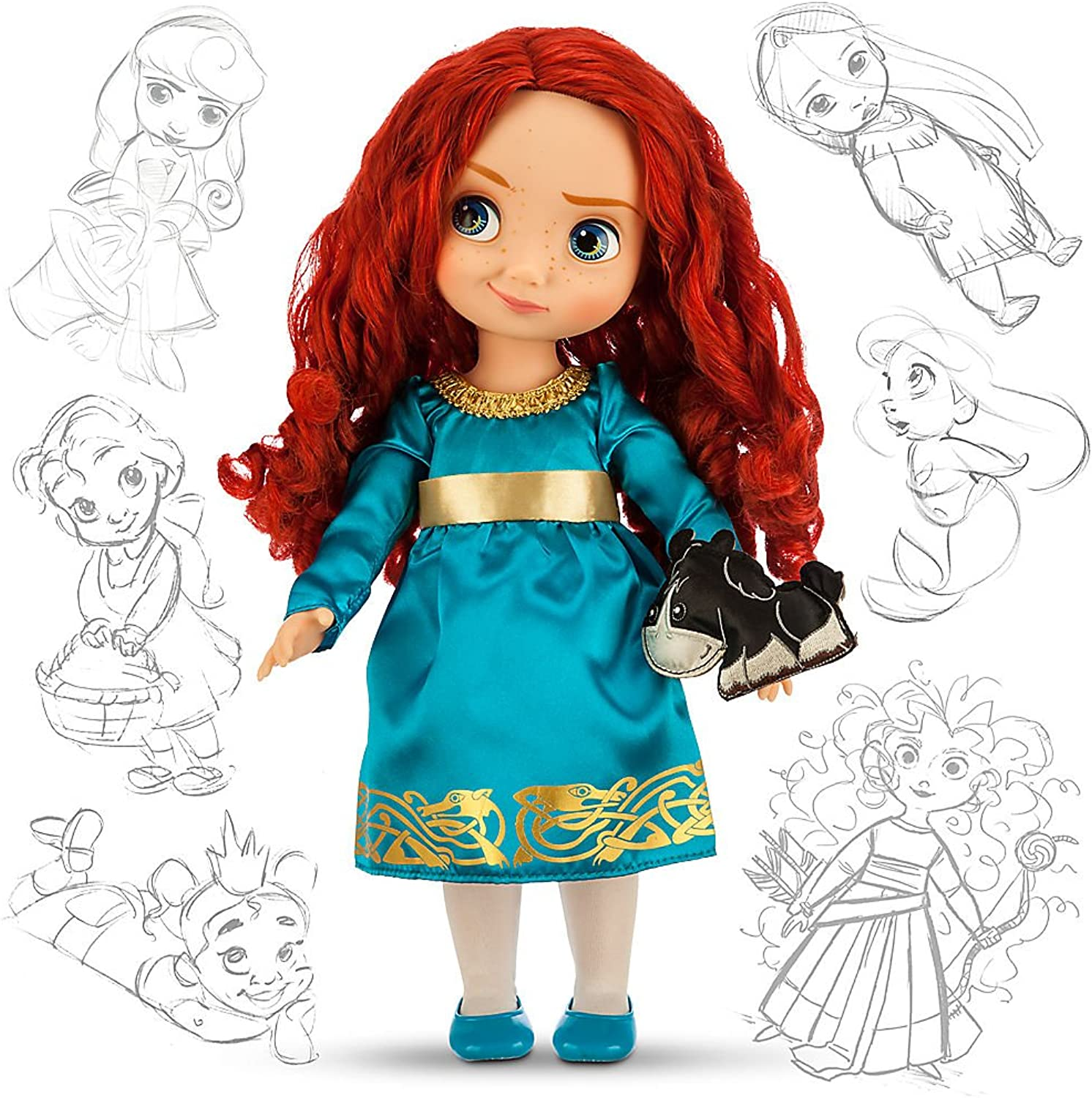 Disney Animators Collection Merida Doll - 16 by Disney