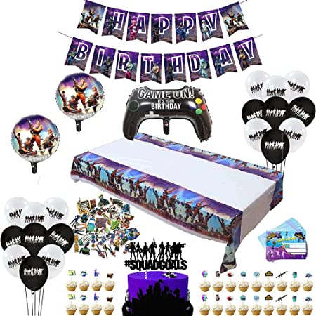 "12/"" Venom Birthday Party Balloon Supplies Decoration Cupcake Toppers Cake Banner"