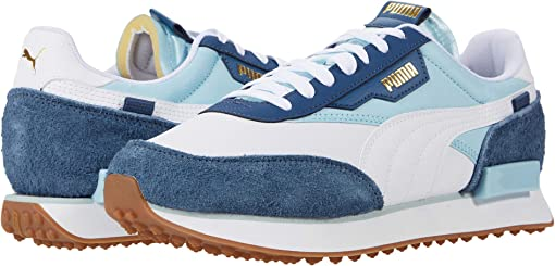 Puma White/Aquamarine/Dark Denim
