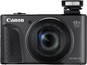 Canon PowerShot SX730 HS - Cámara digital de 20.3 MP ( Video Full HD, WiFi, Bluetooth) Negro