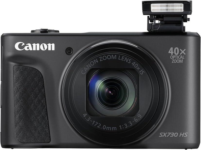 Fotocamera digitale compatta canon powershot sx730 hs , nero 1791C002