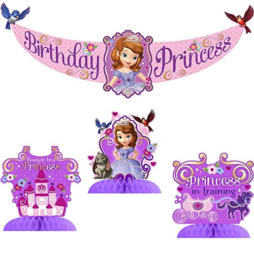 Admirable Sofia The First Party Decorations Amazon Com Personalised Birthday Cards Cominlily Jamesorg
