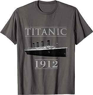 Titanic Tees Youth Voyage Famous RMS Titanic 1912 Shirt T-Shirt