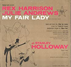 Rex Harrison & Julie Andrews: My Fair Lady LP VG+/NM USA Columbia PS 2015