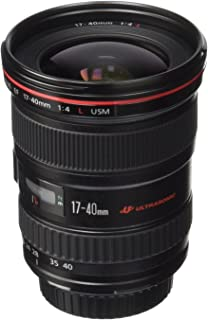 Canon EF 17-40mm f/4L USM Ultra Wide Angle Zoom Lens for Canon SLR Cameras (Renewed)