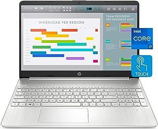 "2021 Newest HP 15 Laptop Notebook, 15.6"" FHD IPS Touchscreen, i7-1165G7, 64GB DDR4 RAM, 2TB PCIe SSD, Webcam, USB-C, HDMI,..."