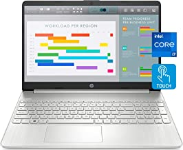 """2021 Newest HP 15 Laptop Notebook, 15.6"""" FHD IPS Touchscreen, i7-1165G7, 32GB DDR4 RAM, 1TB PCIe..."""