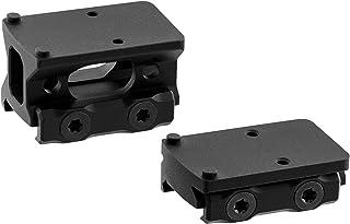 UTG Leapers MT-RMRKIT Inc Super Slim Picatinny RMR Mount 2 in 1 Combo, Black