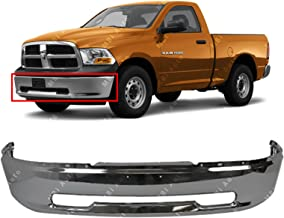 MBI AUTO - Chrome, Steel Front Bumper Face Bar Shell for 2009 2010 2011 2012 Dodge RAM 1500 Pickup 09-12, CH1002387