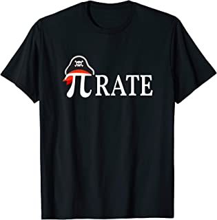 Pirate Math Pi Rate Tee for Pi Day & Halloween T-Shirt