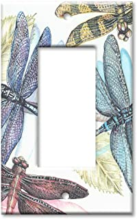 Art Plates - Dragonflies Switch Plate - Single Rocker