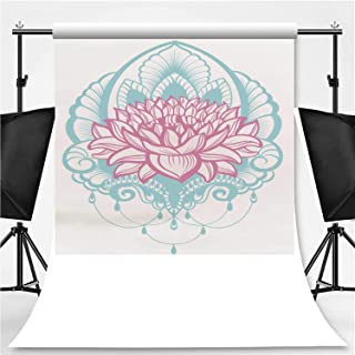 Vector Lotus jeffcyb Photography Background,122212 for Video Photography,Flannelette:6x10ft