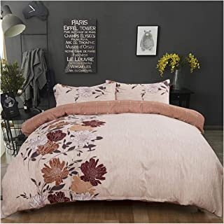 haleysmall Quilt Cover Set King Size Comforter Bedding Sets Double Flower Duvet Cover,Style1,173X218Cm