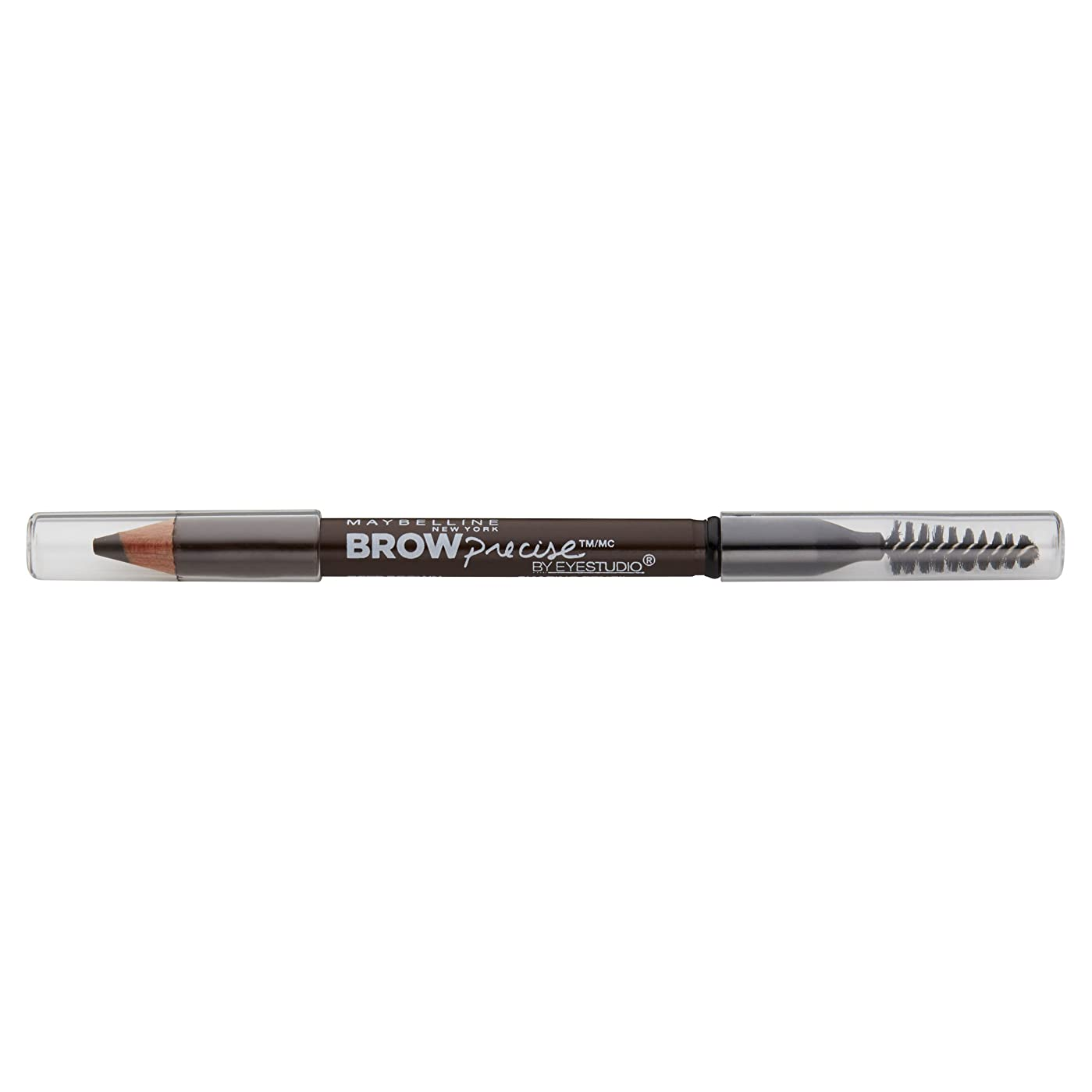 応じる疑い者粘り強いMaybelline New York Eyestudioブロー精密成形鉛筆、ディープブラウン、0.02オンス