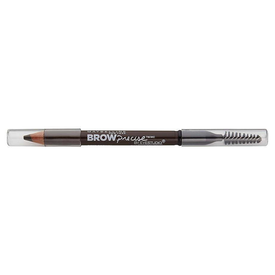 吸う肉の日Maybelline New York Eyestudioブロー精密成形鉛筆、ディープブラウン、0.02オンス