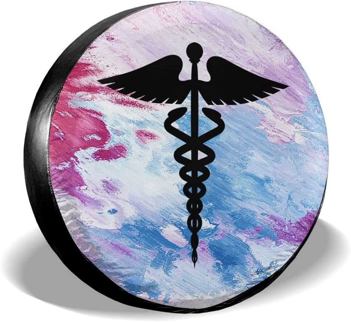 LANHW Medical Symbol Spare High quality new Tire Selling and selling Wheel Car Camper Cover SUV Truck