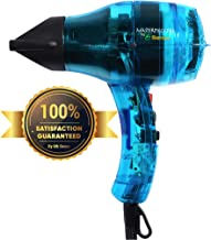 Professional Salon Ionic Hair Dryer Handcrafted in France for Europe's Finest Salons, Featherweight, Dual Ion Generator Function Builds Shine & Volume 1600 Watts